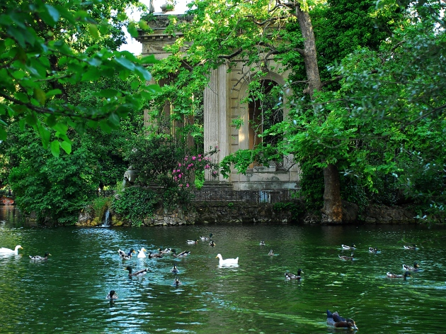 I giardini di villa borghese il giardino delle esperidi for Giardini ornamentali