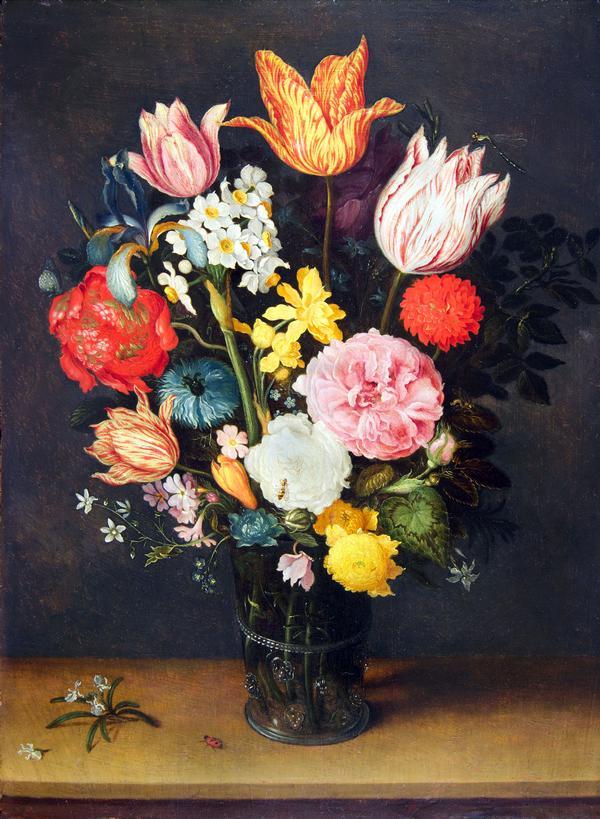 I fiori dei brueghel il giardino delle esperidi for Vasi di fiori dipinti